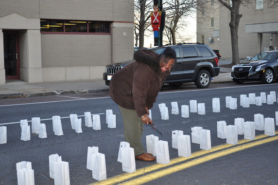Luminaria Block Walk a Special Event